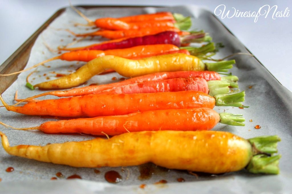 Carrots cooking