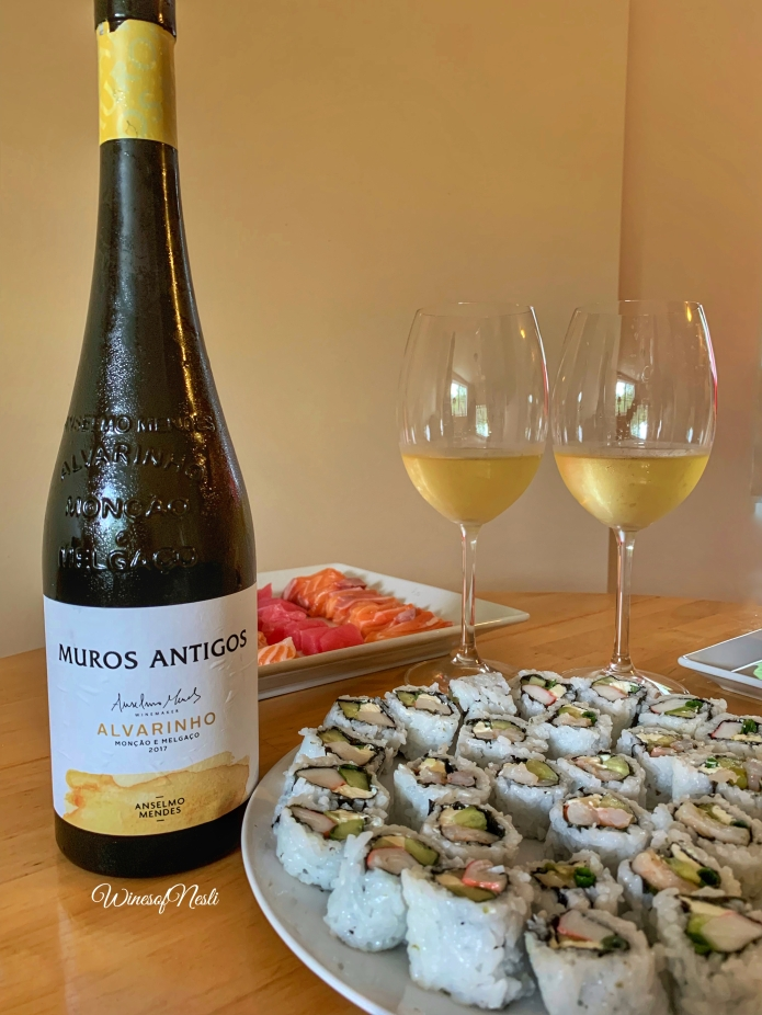 alvarinho and sushi