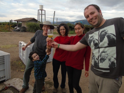 The PO' Wine Project team, photo provided by Jose Javier Echandi.
